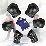 Child Knee Pads, Tencoz Child 8 PCS Protection Set Knee Protectors Elbow Pads Wrist Protectors for Children Roller Skating Skate Skateboarding Cycling