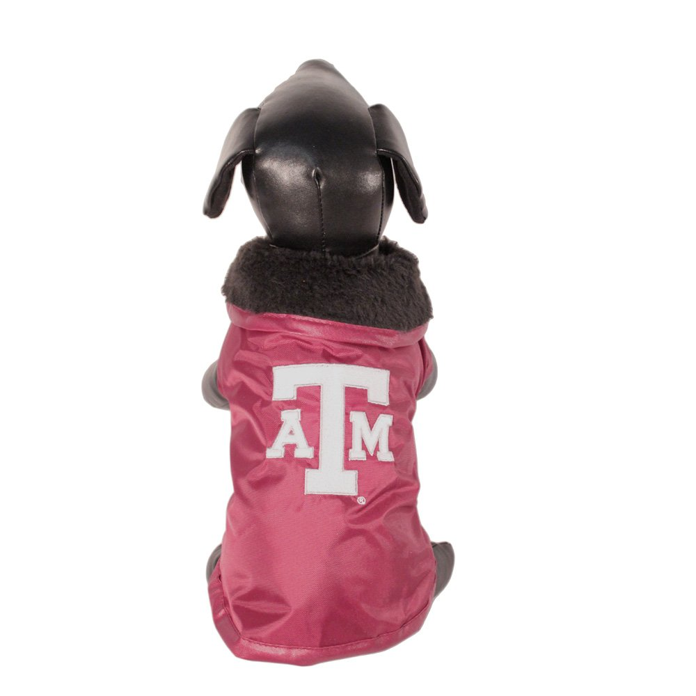 NCAA Texas A&M Aggies All Weather Resistant Predective Dog Outerwear, XX-Small