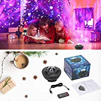 ZZYYZZ LED Star Night Light Proyector Ocean Wave Proyector Luz con ...