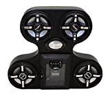 Froghead Industries Stereo for Canam Maverick AMPHIB754CXLED-Digital Media Locker-LED Speakers
