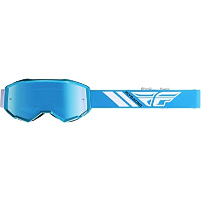 Fly Racing 2020 Zone Goggles (Blue/Blue Mirror Lens): Automotive