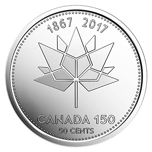 - Canada 150 Years - 2017 Canadian Coins Special 50 Cent (Two different coins uncirculated)
