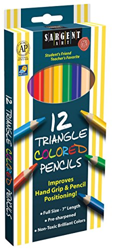 Sargent Art 22 7206 Triangle Colored
