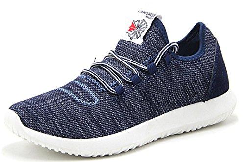 Chaussures De Course Pour Homme, Mode Respirant Sport En Maille Semelle Souple Taille L