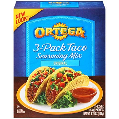 (Ortega Seasoning Mix, Taco Seasoning, 3 Count)