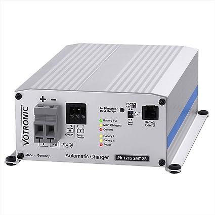 VOTRONIC PB - Cargador para baterías de Plomo y Litio (12 V, 230 V ...