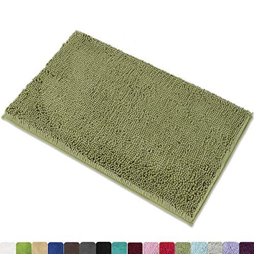 MAYSHINE Chenille Bath Mat for Bathroom Rugs 32