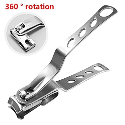 Nail Clipper - Sharp Stainless Steel , Professional, Large Nail Cutters for Thick Nails