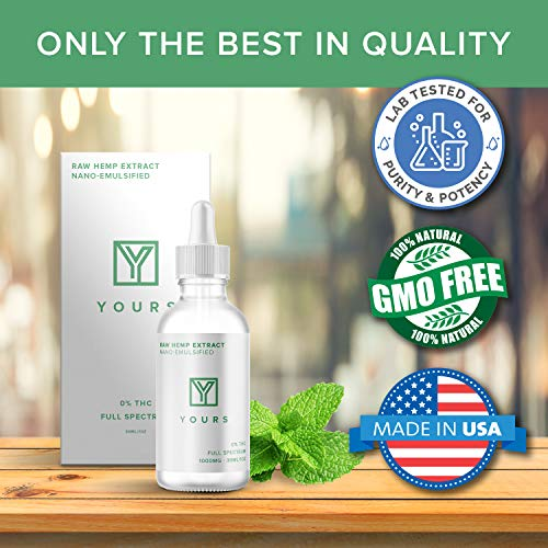 51hy3CIuFXL - Organic Hemp Oil for Pain Relief & Joints 1000 mg - Soothing Hemp Oil for Anxiety Stress & Sleep - Made in USA - Advanced Nanoparticle Delivery System for Improved Absorption