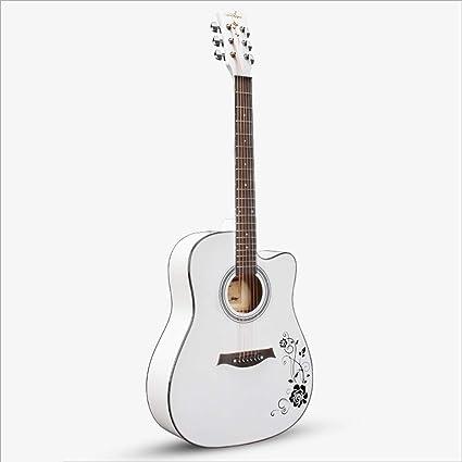 Aigliady Guitarra hecha a mano, modelo rosado, guitarra ...