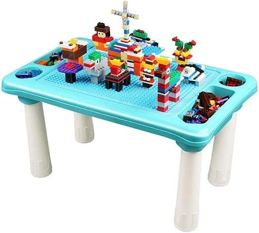 DWLXSH Kids 3-en-1 Multi Actividad Juego de mesa - Bloque de ...