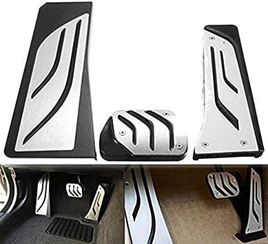 Fußpedal Pedalkappen Auto Pedale Abdeckung Aluminiumlegierung Gummi Für 5 Serie G30 G31 G38 530i 540i 520d 530d 2007 2018 Pedal Auto