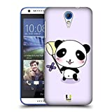 Head Case Designs Catch A Butterfly Kawaii Panda Hard Back Case for HTC Desire 816