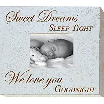 Amazon.com : Sweet Dreams Sleep Tight 8 x 10 Memory Frame : Nursery ...