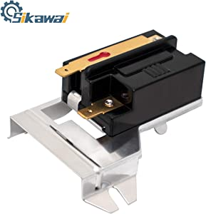 338906 Gas Dryer Flame Sensor by Sikawai for Whirlpool Kenmore Replaces WP338906,AP6008294,DC32-00008A,3-3377,14205529