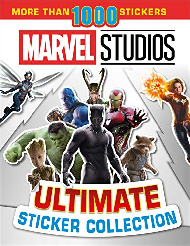 Ultimate Sticker Collection: Marvel Studios: With more than 1000 stickers]()