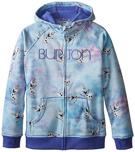 Burton Girls Scoop Hoodie, Small, Olaf (Burton Print Sweatshirt)