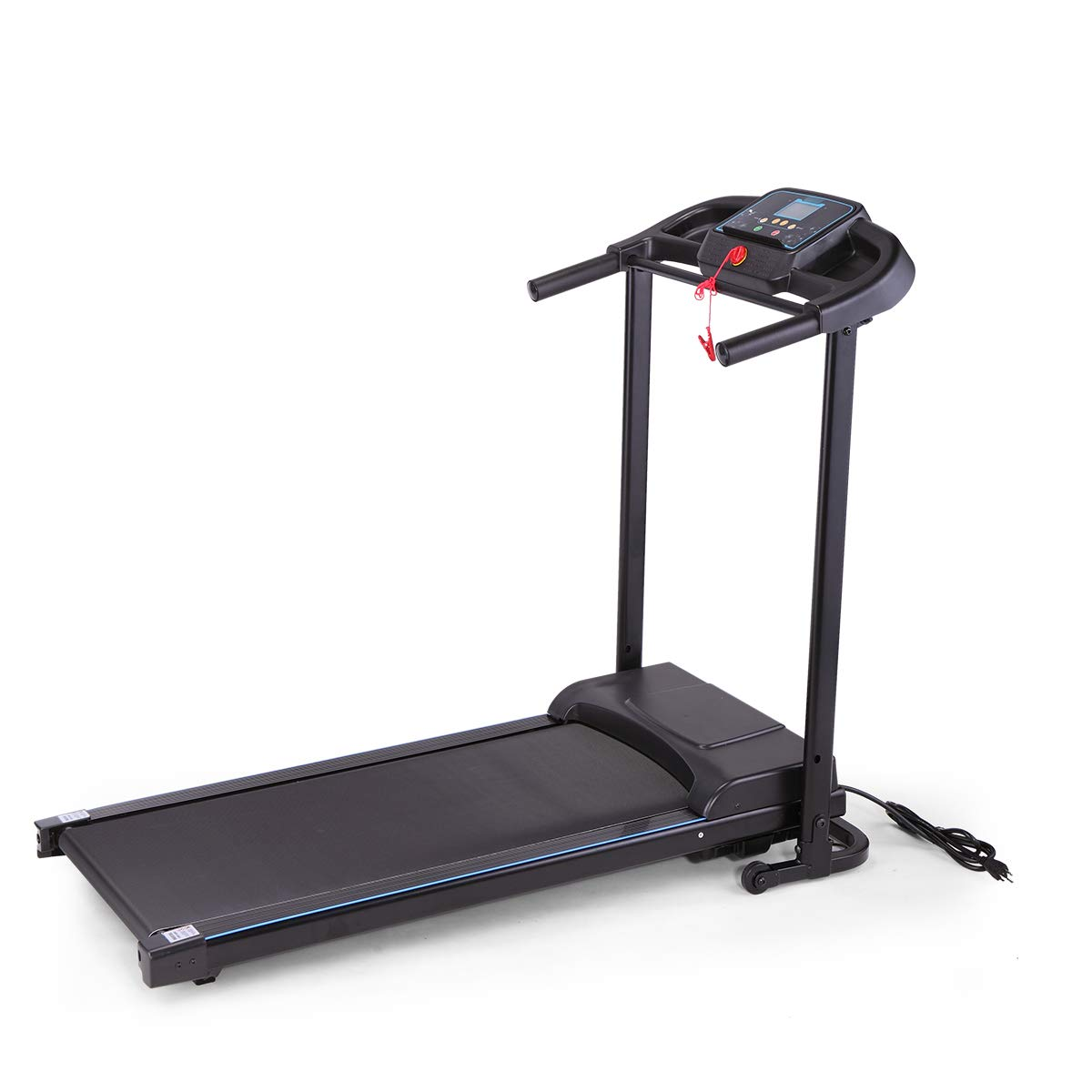 LAZYMOON Folding Treadmill Fitness Machine Gym & Home Electric Motorized Power Treadmill 700W