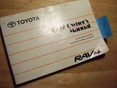 1997 toyota rav4 rav 4 owners manual toyota amazon com books rh amazon com 1997 rav4 service manual pdf 1996 RAV4