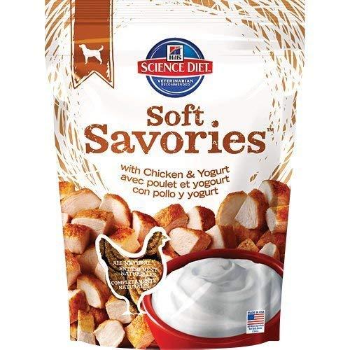 Hill's Science Diet Soft Savories with Chicken & Yogurt Dog Treats, 8 oz bag by Hill's Science Diet Dog