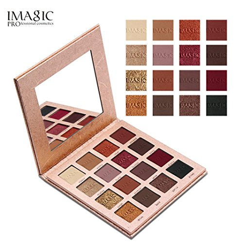 16 Color coloShimmer Glitter Eye Shadow Powder Matt Eyeshadow Cosmetic Makeup