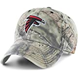 OTS NFL Atlanta Falcons Men's Challenger Adjustable Hat, Mossy Oak, One Size