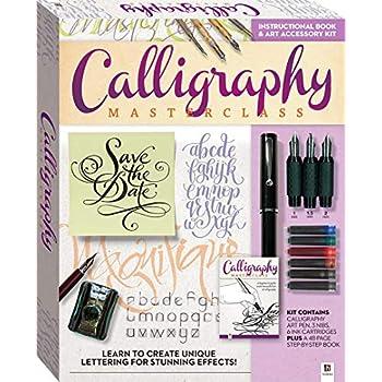 Amazon.com: Manuscript MC146 Masterclass Calligraphy Set