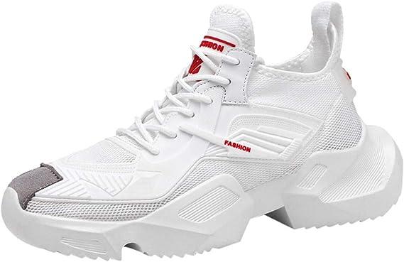 Darringls Zapatos de Hombre,Zapatillas para deported de Hombre Deporte Planas de Malla Transpirable Zapatos Casuales de Zapatos de Malla Aire Libre para Hombre 39-44 Cuarto: Amazon.es: Ropa y accesorios