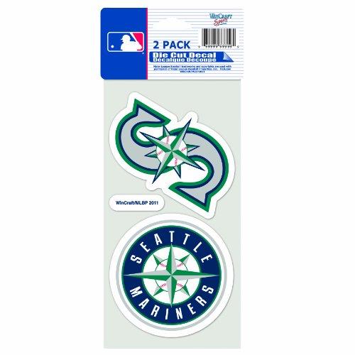(MLB Seattle Mariners 4-by-8 Die Cut)