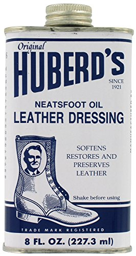 Huberd's Leather Dressing Neatsfoot Oil, 8 oz ()