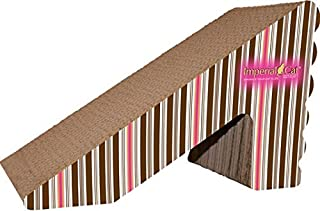 product image for Imperial Cat Rub 'n Ramp Scratch 'n Shape, Pink and Brown Stripe