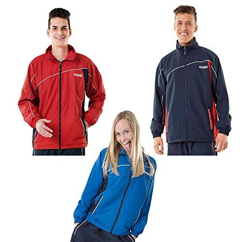 Personalizzato Giacca tempesta, Opzioni XL, navy / red