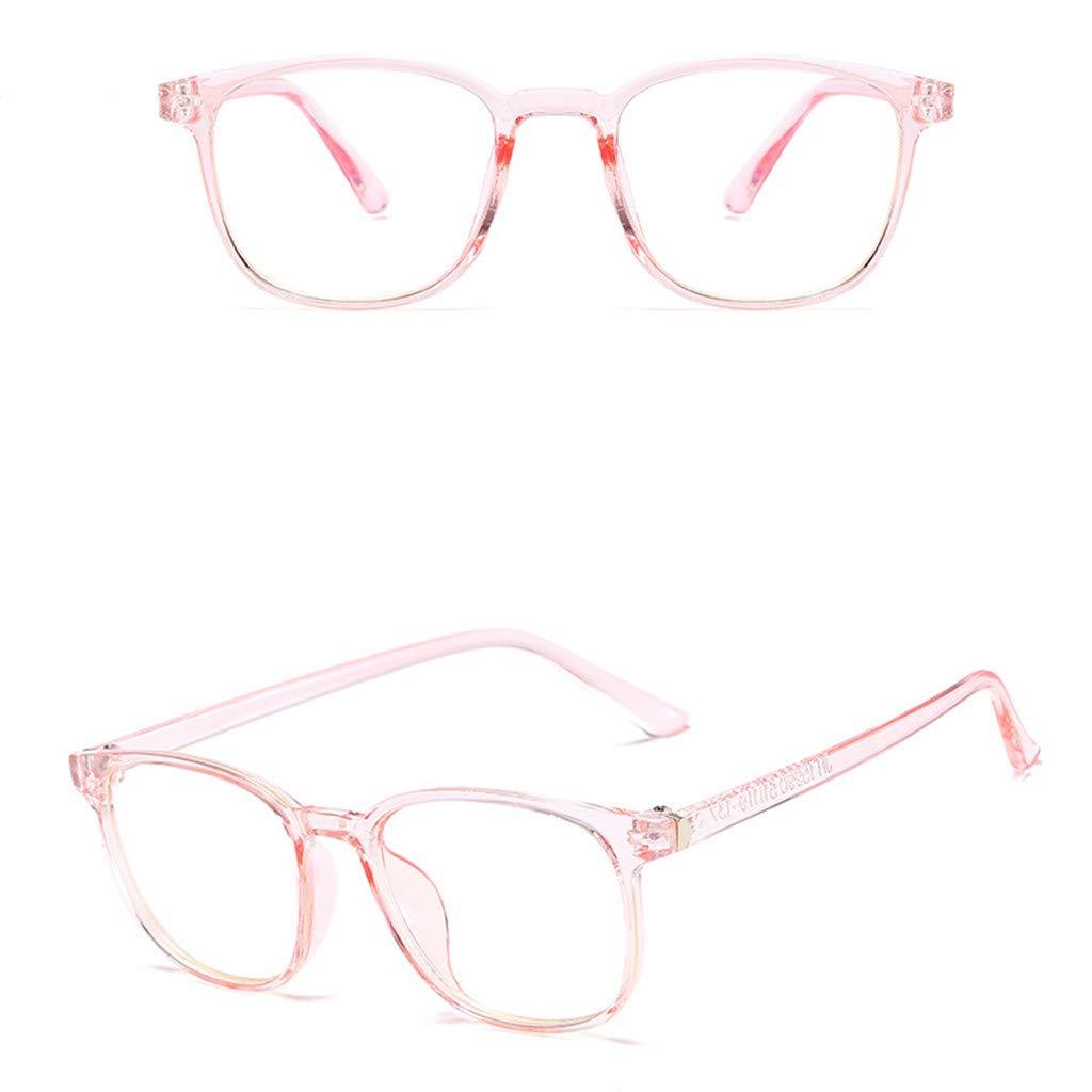 CapsA Retro Blue Light Blocking Glasses Square Nerd Eyeglasses Frame Anti Blue Ray Computer Game Glasses
