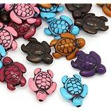 10pcs Doll House Miniature Bonsai Fairytale Garden Landscape Crafts Sea Turtle Decoration SODIAL R