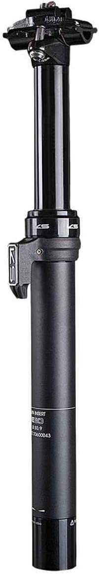 125mm KS E20 Dropper Seatpost 30.9mm Black