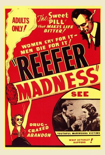 Reefer Madness Poster Movie 1938