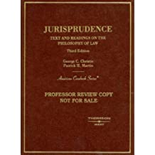 Jurisprudence, Text and Readings on the Philosophy of Law