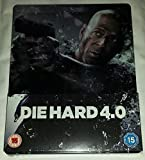 Die Hard 4.0 Blu-ray Ultra Limited Zavvi Exclusive #/4000 Steelbook Edition [Region B]