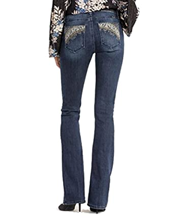 d5f8c090858 Image Unavailable. Image not available for. Color  Miss Me Women s Danger  Zone Mid-Rise Boot Cut Jeans ...