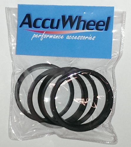 [해외]AccuWheel ACHR110-7810 휠 허브 중심 링 (110mm OD에서 78.10mm ID까지) - 4 개 세트/AccuWheel ACHR110-7810 Wheel Hub Centric Rings (110mm OD to 78.10mm ID) - Pack of 4 pcs