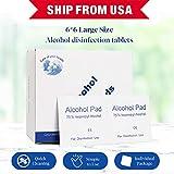 75% Alcohol Disinfectant Cotton Slices, 100 Pcs