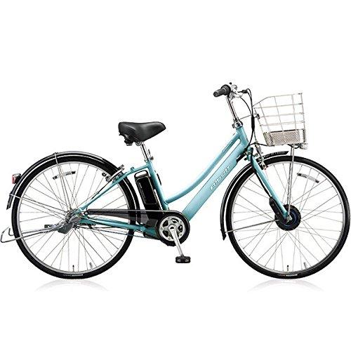 ブリヂストン(BRIDGESTONE) アルベルト e L型 AL7B48 27インチ 電動アシスト自転車 専用充電器付 B076PY6YZN T.スノーアクア T.スノーアクア