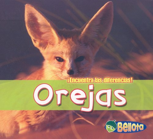 Orejas (¡Encuentra las diferencias!) (Spanish Edition) by Brand: Heinemann-Raintree