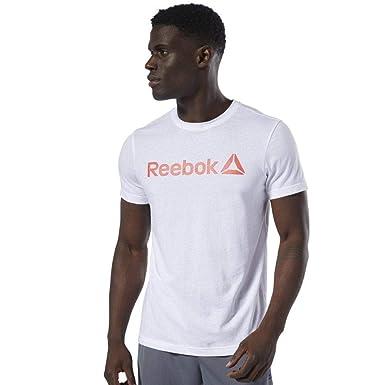T-Shirt Sportiva Uomo Reebok QQR Stacked DU4692