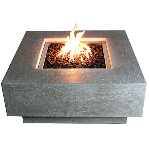 Elementi Manhattan Fire Pit Table (Natural Gas)