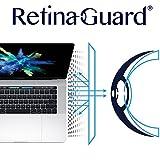 "RetinaGuard Anti-UV, Anti-blue Light Screen protector for Macbook Pro 15"" with Touch Bar - SGS & Intertek Tested - Blocks Excessive Harmful Blue Light, Reduce Eye Fatigue and Eye Strain"