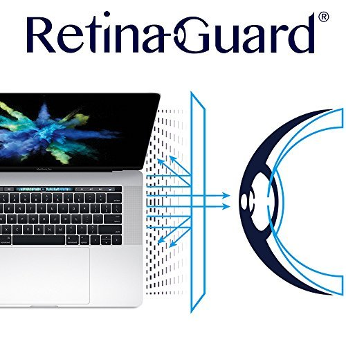 Retinaguard Macbook Pro 15 Inch 2018 2017 2016 Anti Blue Light Screen Protector Transparent Sgs And Intertek Tested Blocks Excessive Harmful Blue Light Reduce Eye Fatigue And Eye Strain