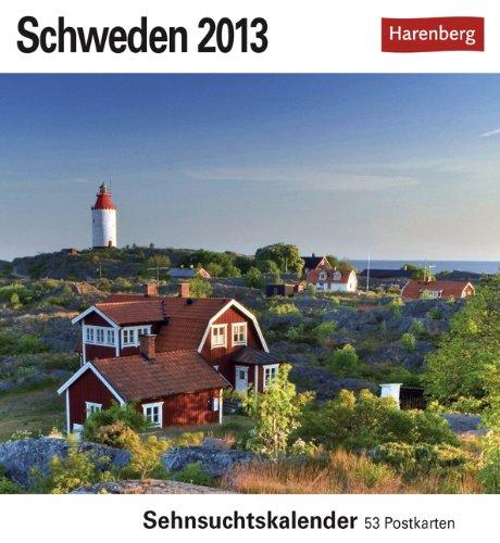 Schweden 2013: Sehnsuchts-Kalender. 53 heraustrennbare Farbpostkarten