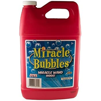 Imperial Miracle Bubbles Bubble Solution, 128Oz, Colors may vary