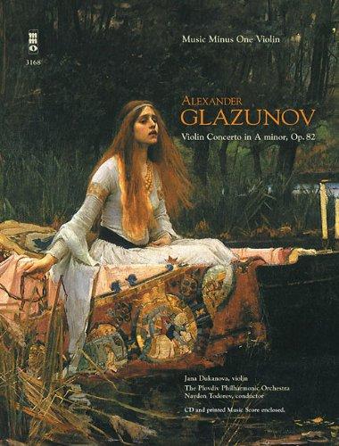 Glazunov - Violin Concerto in A Minor, Op. 82: Music Minus One Violin Deluxe 2-CD Set (Music Minus One (Numbered)) by Music Minus One